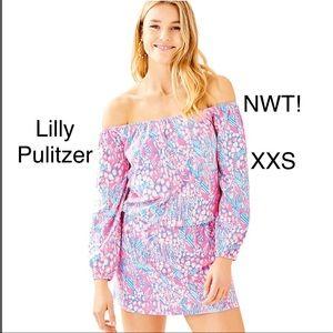 Lilly Pulitzer Lana Off the Shoulder Skort Romper